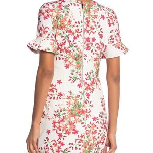 Calvin Klein Dresses - NWT Calvin Klein Bell Sleeve Floral Dress